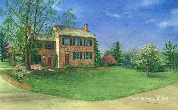 Linda and Greg's 1750s Home