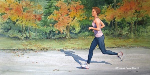 Runner – 17 x 26 Framed