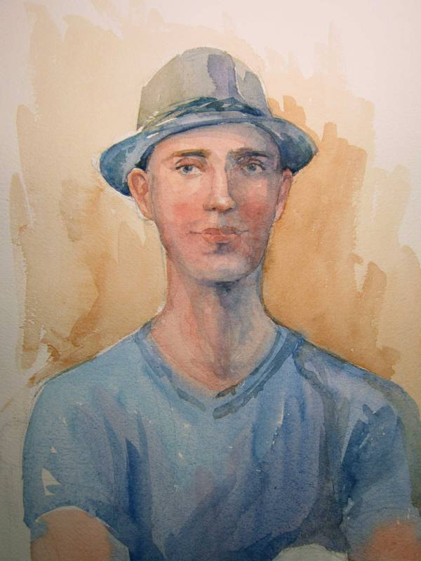 Watercolor Workshop Portrait 12w x 14d