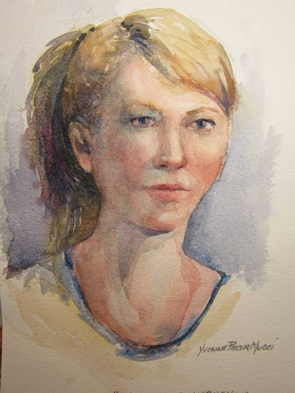 Watercolor Workshop Warm-Up 7w x 9d