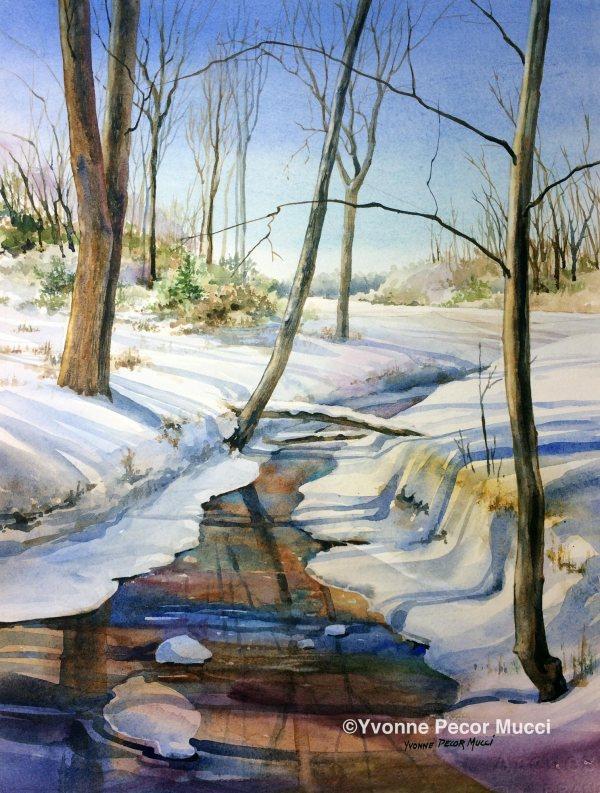 mucci_winterthaw_watercolor